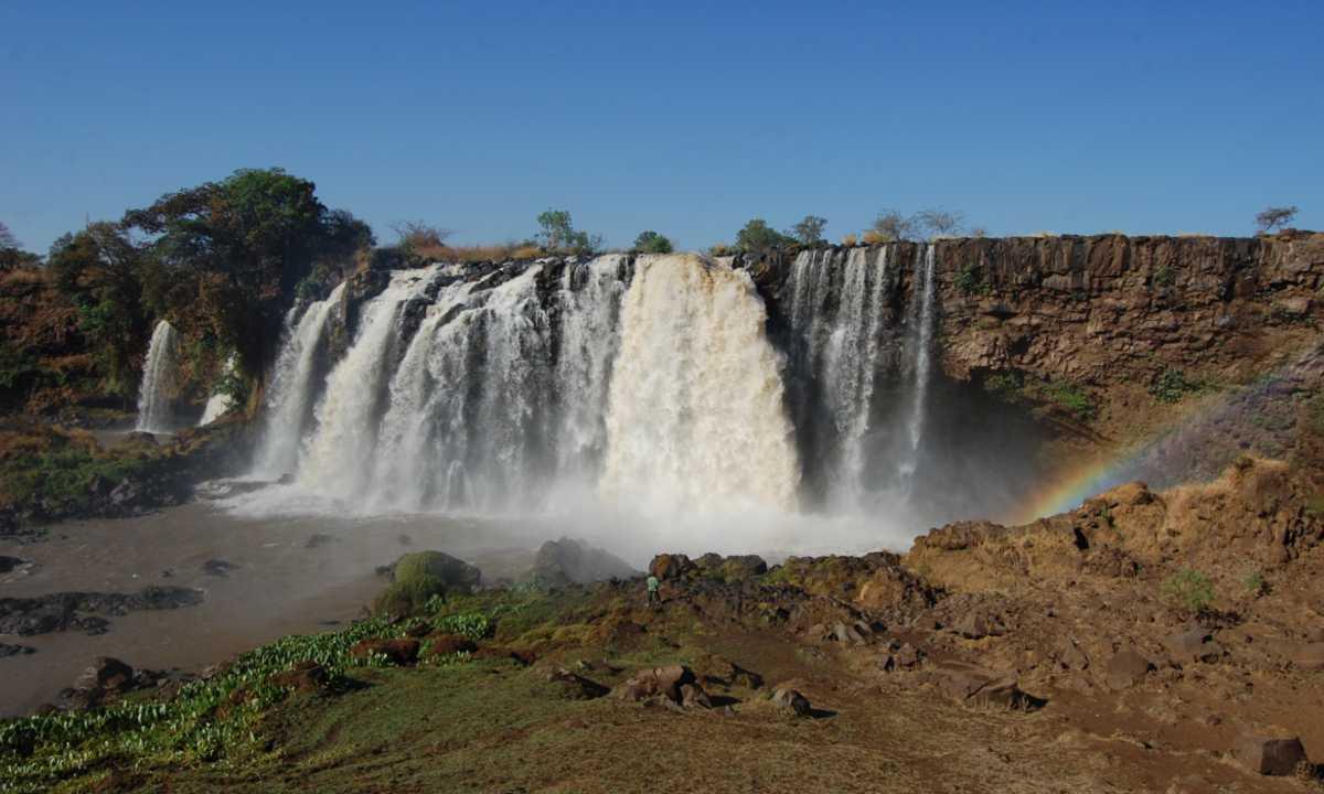 Blue Nile Falls pic 2