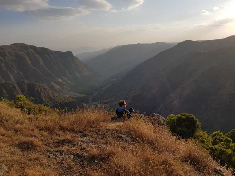 Simien Landscape Shot