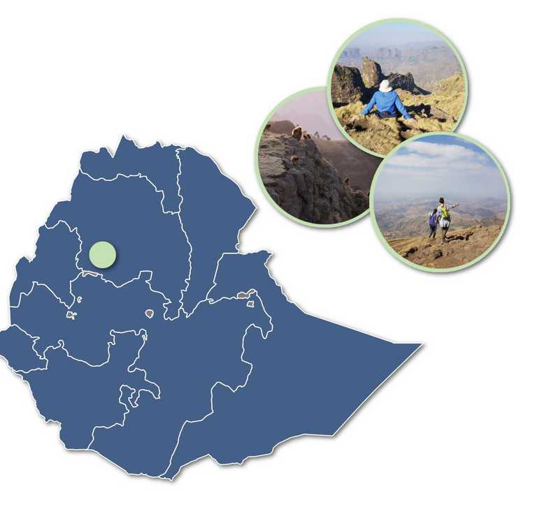 Simien-mountains-on-map